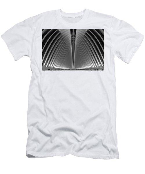 Oculus World Trade Center  Men's T-Shirt (Athletic Fit)