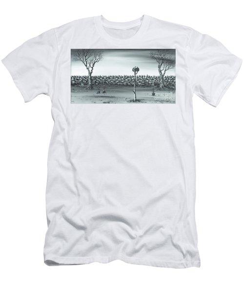 Odd Couple. Men's T-Shirt (Slim Fit) by Kenneth Clarke