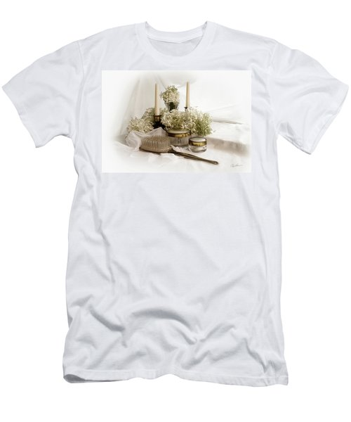 Men's T-Shirt (Slim Fit) featuring the photograph Of Days Past by Ann Lauwers