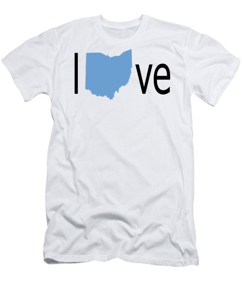 Ohio Love Men's T-Shirt (Athletic Fit)