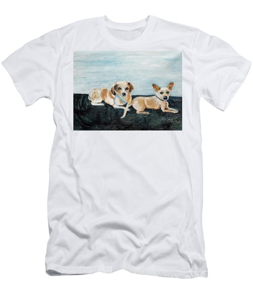 Oil Painting Men's T-Shirt (Athletic Fit)