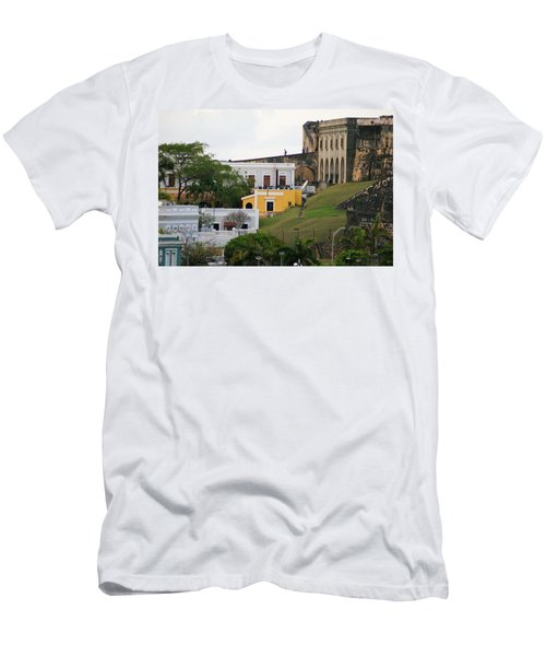 Old And New Men's T-Shirt (Slim Fit) by Lois Lepisto