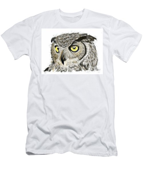 Men's T-Shirt (Athletic Fit) featuring the digital art Old And Wise by Darren Cannell