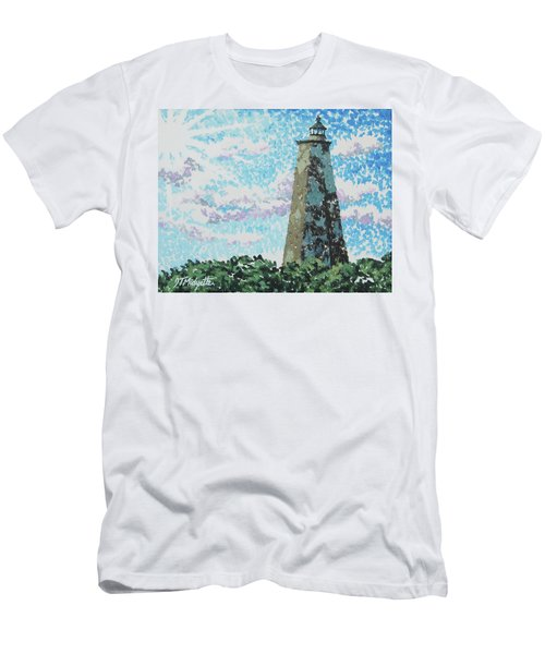 Old Baldy Lighthouse Men's T-Shirt (Athletic Fit)