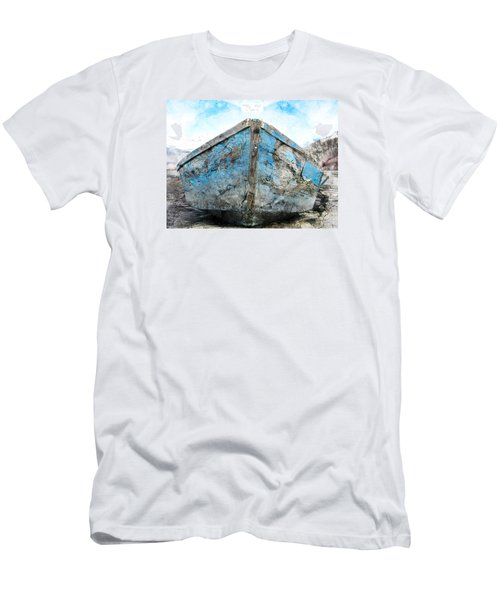 Old Blue # 2 Men's T-Shirt (Slim Fit) by Ed Hall