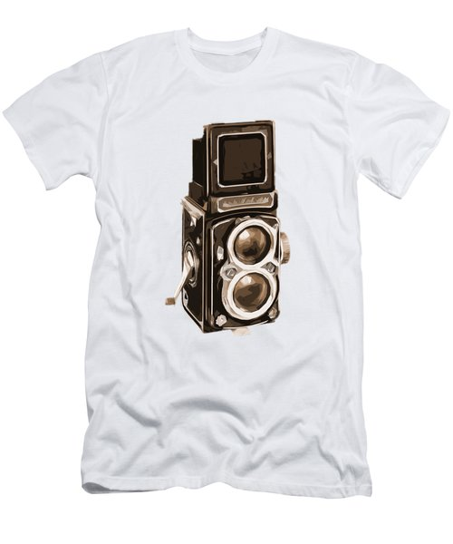 Old Camera Phone Case Men's T-Shirt (Athletic Fit)