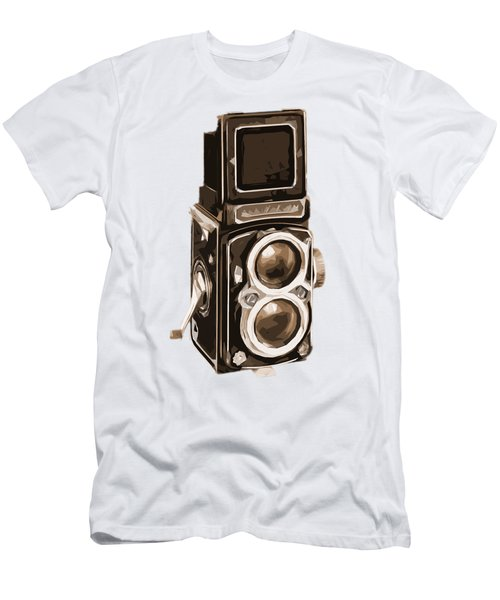 Old Camera Tee Men's T-Shirt (Athletic Fit)