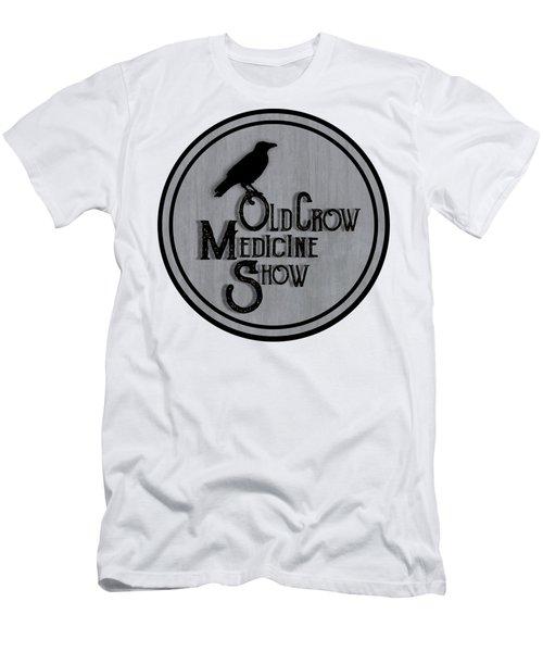 Old Crow Medicine Show Sign Men's T-Shirt (Athletic Fit)