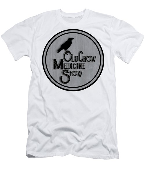 Old Crow Medicine Show Sign Men's T-Shirt (Athletic Fit)