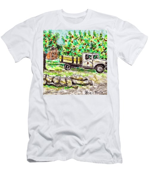 Old Farming Truck Men's T-Shirt (Athletic Fit)