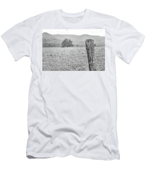 Old Fence Post Men's T-Shirt (Athletic Fit)