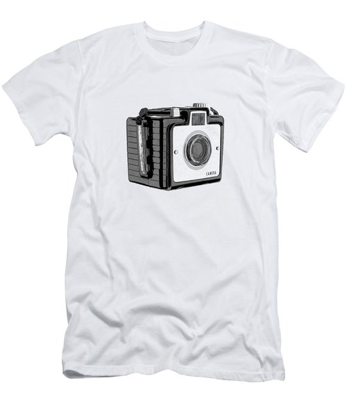 Old Film Camera T-shirt Men's T-Shirt (Athletic Fit)
