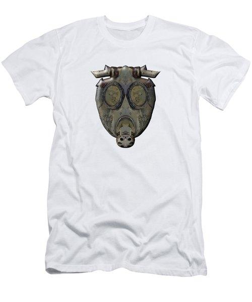 Old Gas Mask Men's T-Shirt (Slim Fit) by Michal Boubin