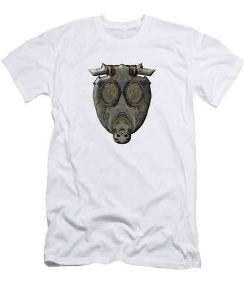 Old Gas Mask Men's T-Shirt (Athletic Fit)