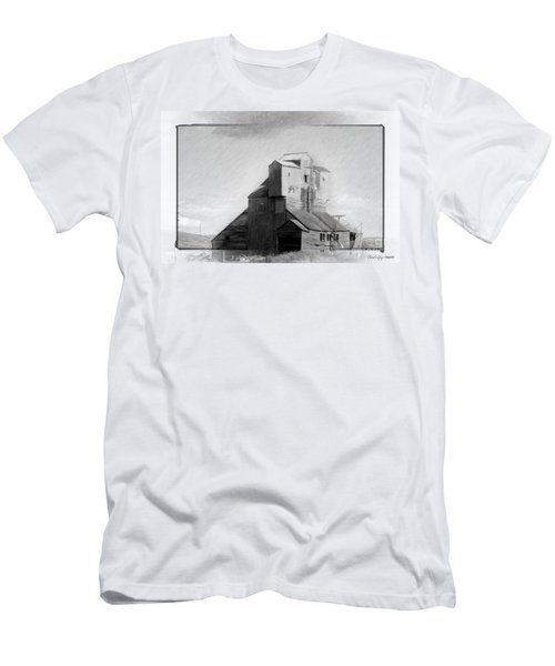 Old Grain Elevator Men's T-Shirt (Athletic Fit)