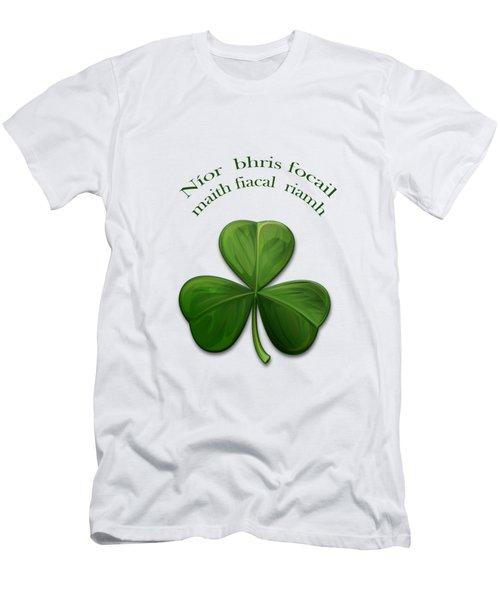 Old Irish Sayings Men's T-Shirt (Athletic Fit)