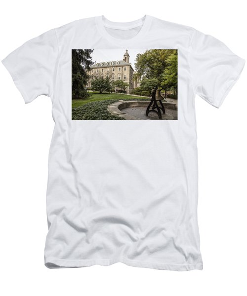 Old Main Penn State Bell  Men's T-Shirt (Athletic Fit)