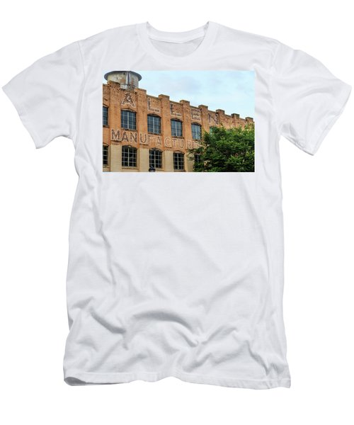 Old Mill Building In Buford Men's T-Shirt (Athletic Fit)