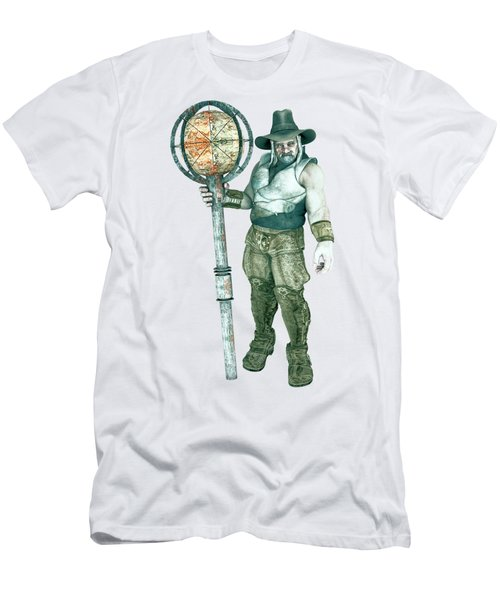 Old Mountain Giant Men's T-Shirt (Athletic Fit)