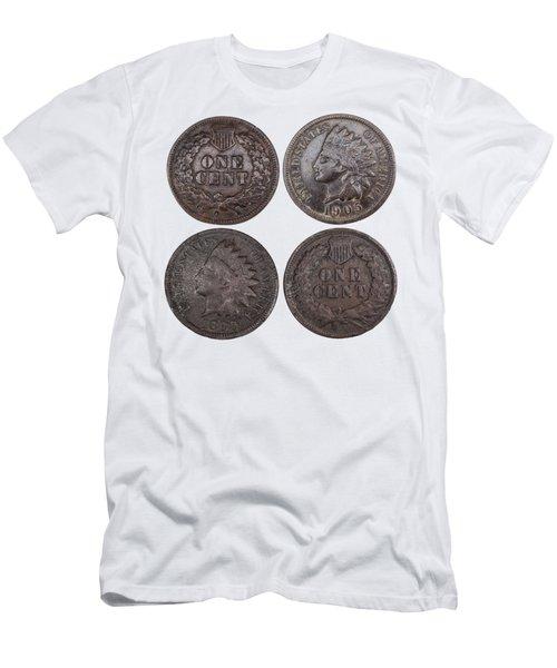 Old Pennies 2016-1 Men's T-Shirt (Athletic Fit)