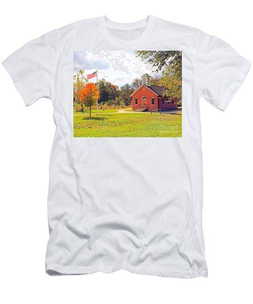 Old Schoolhouse-wildwood Park Men's T-Shirt (Athletic Fit)