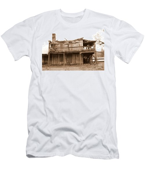 Old Stagecoach Stop Men's T-Shirt (Athletic Fit)