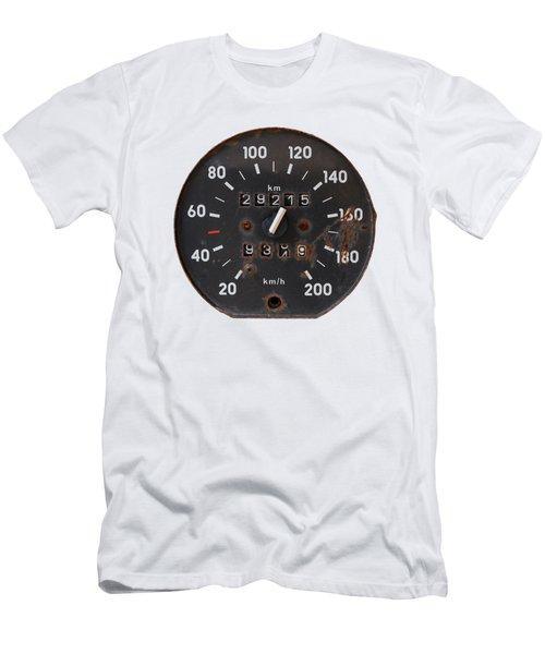 Old Tachometer Men's T-Shirt (Athletic Fit)