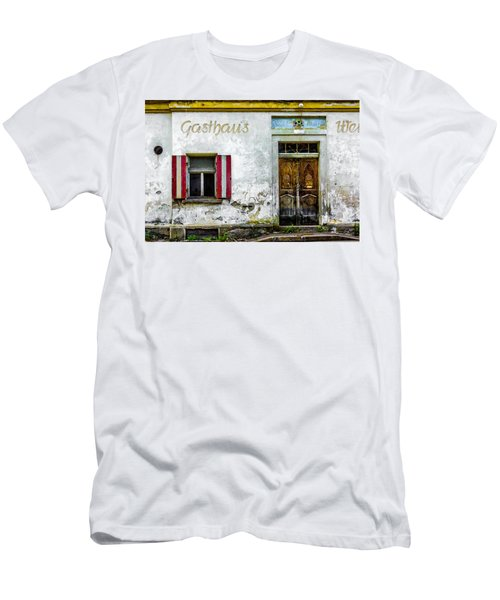 Old Traditional Austrian Tavern Men's T-Shirt (Athletic Fit)