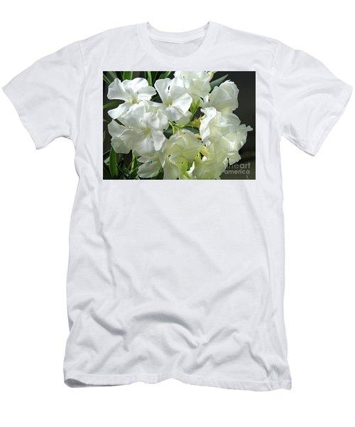 Oleander Mont Blanc 2 Men's T-Shirt (Slim Fit) by Wilhelm Hufnagl