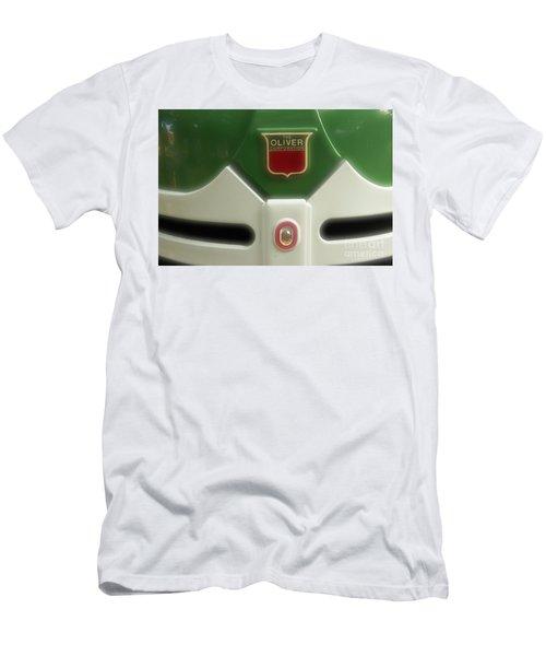 Oliver Tractor Emblem Men's T-Shirt (Athletic Fit)
