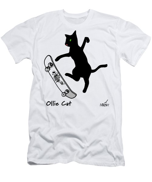 Ollie Cat Men's T-Shirt (Athletic Fit)