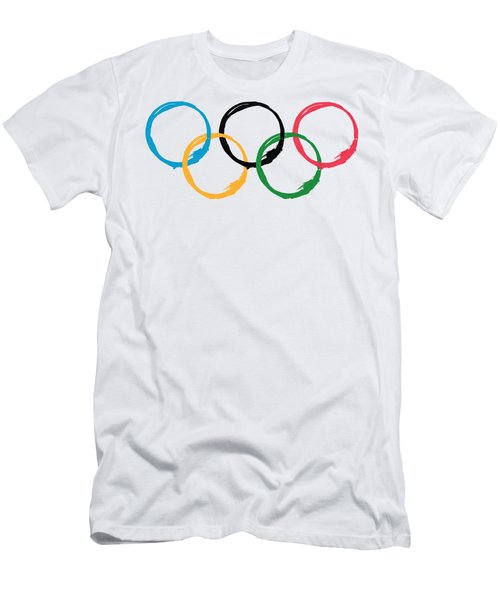 Olympic Ensos Men's T-Shirt (Athletic Fit)