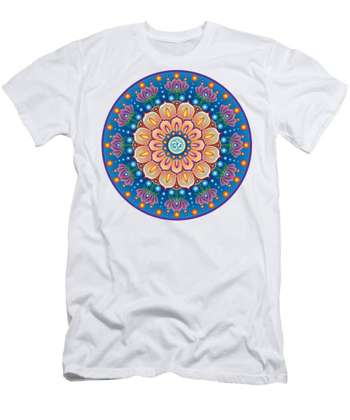 Om Mandala Men's T-Shirt (Athletic Fit)