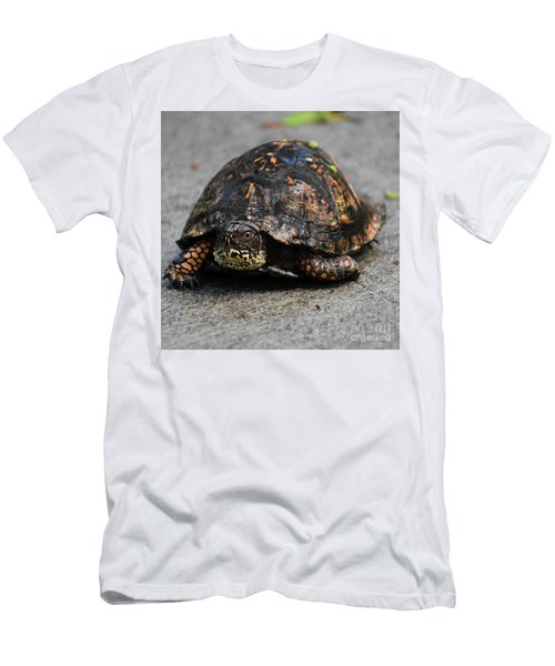 Men's T-Shirt (Slim Fit) featuring the photograph On A Mission by Skip Willits