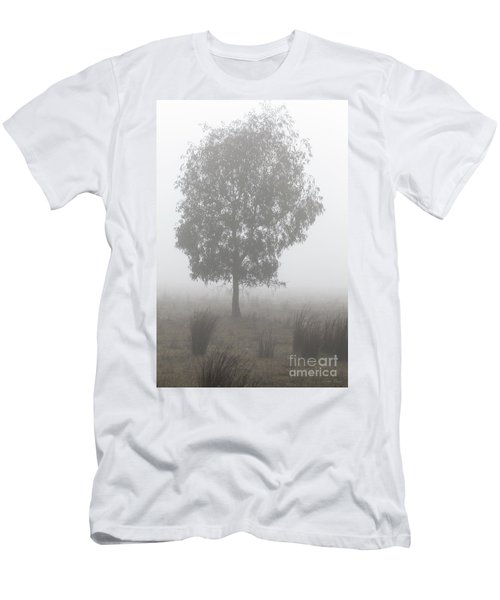 Men's T-Shirt (Athletic Fit) featuring the photograph On A Winter's Morning by Linda Lees