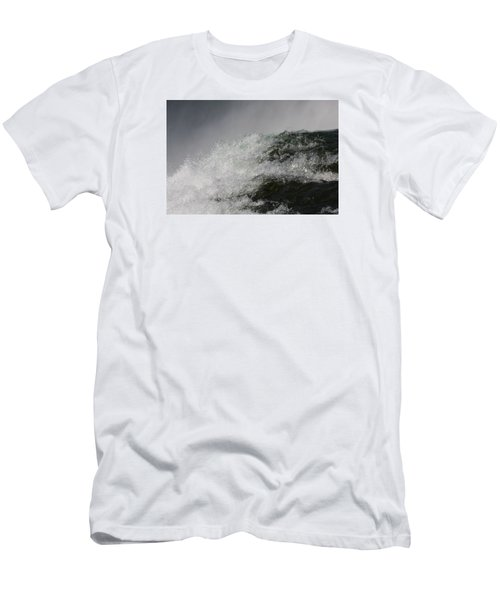 Men's T-Shirt (Slim Fit) featuring the photograph On Edge by Vadim Levin