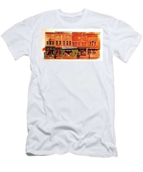 On Market Square Men's T-Shirt (Athletic Fit)