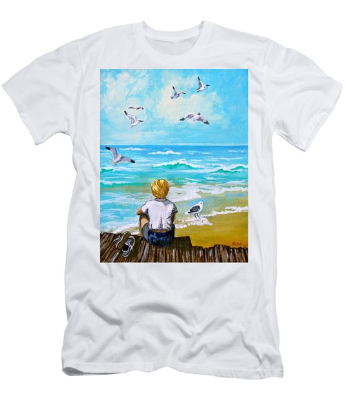 On The Boardwalk Men's T-Shirt (Athletic Fit)