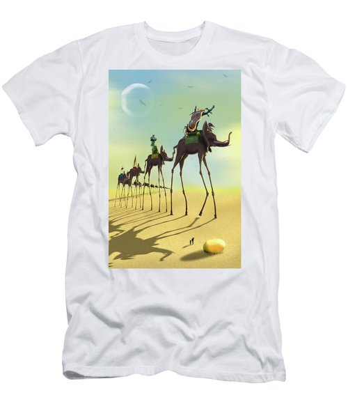 On The Move 2 Men's T-Shirt (Slim Fit) by Mike McGlothlen