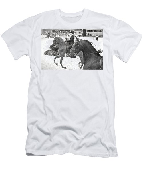 On The Outside Charcoal Men's T-Shirt (Athletic Fit)