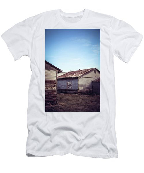 Men's T-Shirt (Slim Fit) featuring the photograph Once Industrial - Series 2 by Trish Mistric