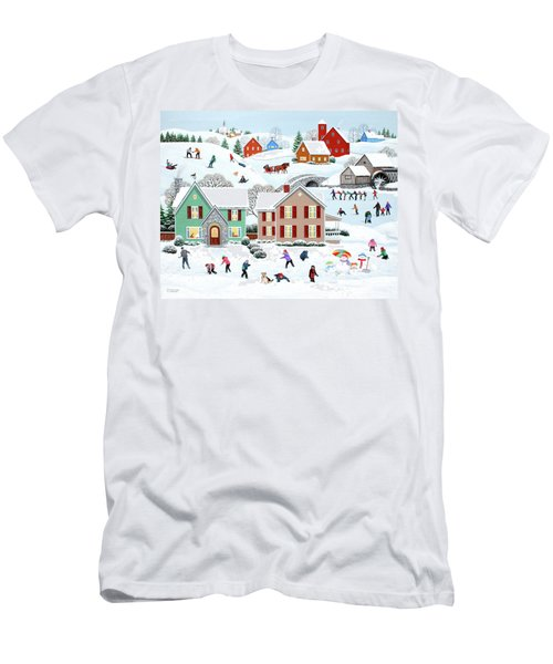 Once Upon A Winter Men's T-Shirt (Athletic Fit)