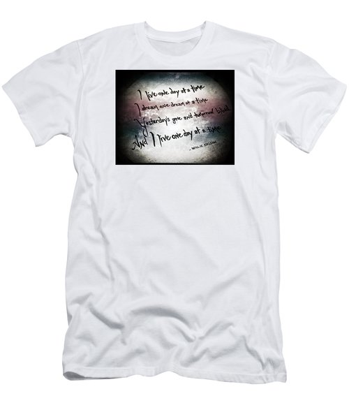 Men's T-Shirt (Slim Fit) featuring the photograph One Day.... by Trish Mistric