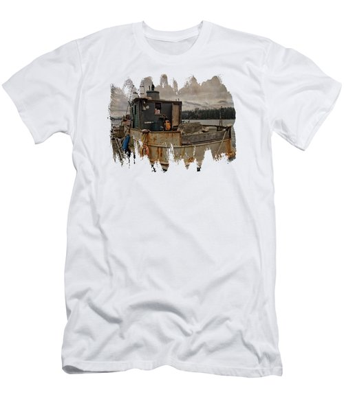 One Salty Dog Men's T-Shirt (Athletic Fit)