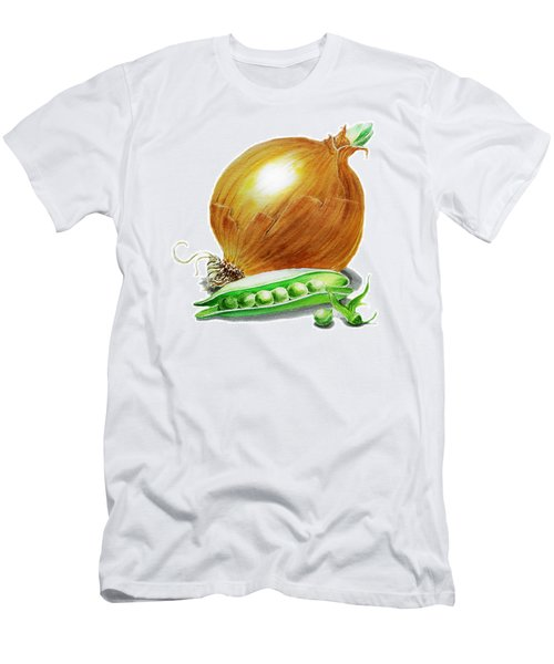 Onion And Peas Men's T-Shirt (Athletic Fit)