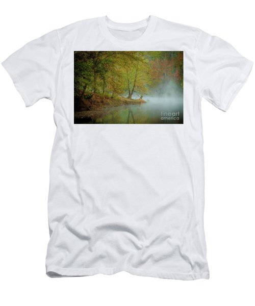 Men's T-Shirt (Slim Fit) featuring the photograph Only If I Go by Iris Greenwell