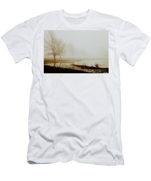 Men's T-Shirt (Slim Fit) featuring the photograph Open Space by Iris Greenwell