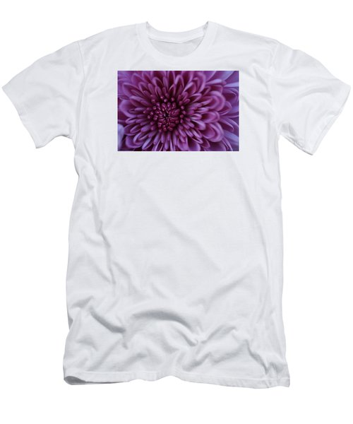 Men's T-Shirt (Slim Fit) featuring the photograph Purple Mum by Glenn Gordon