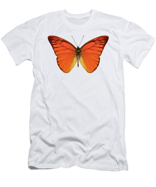 Orange Butterfly Species Appias Nero Neronis  Men's T-Shirt (Athletic Fit)