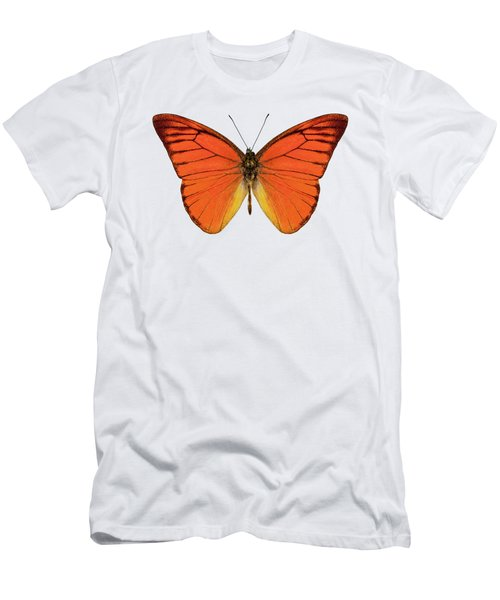 Orange Butterfly Species Appias Nero Neronis  Men's T-Shirt (Athletic Fit)
